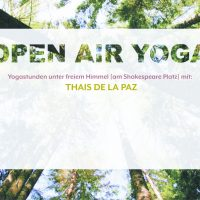 OPEN AIR YOGA am SHAKESPEARE PLATZ